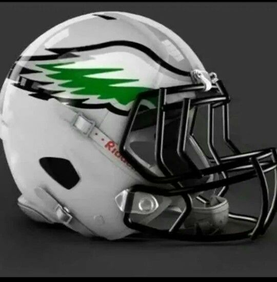 Love it ♡ Philadelphia Eagles♡ Alternate Helmet♡Concept ...