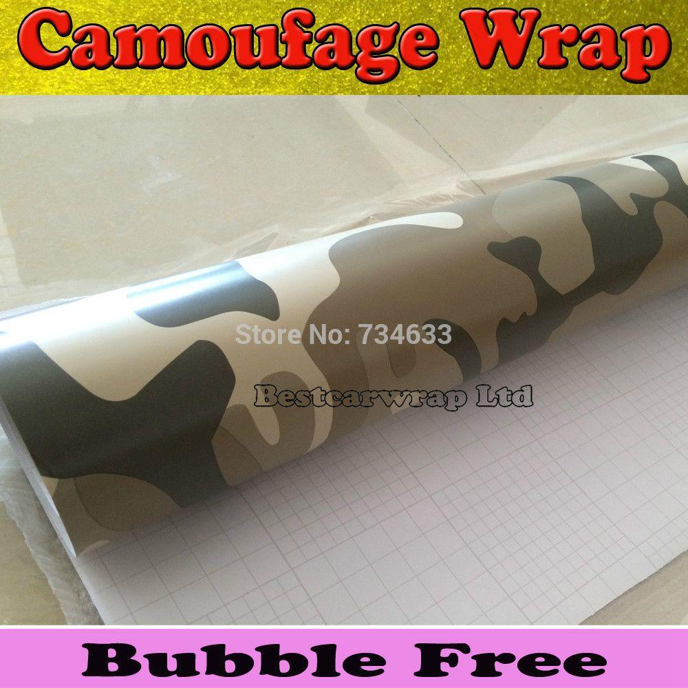 LARGE ELITE BLACK Camouflage Vinyl Car Wrap Camo Film Sheet Roll Adhesive