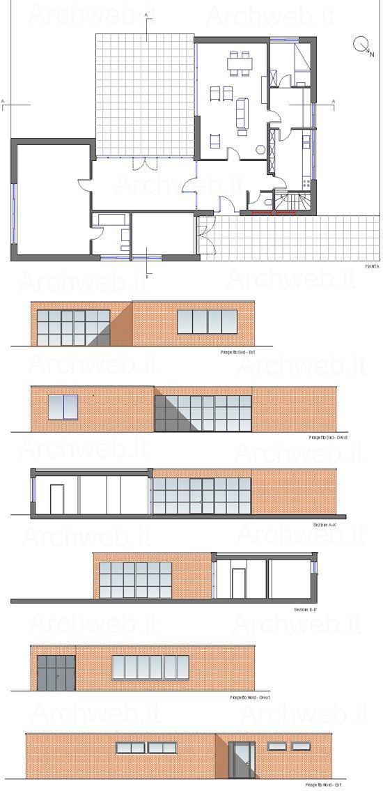Risultati immagini per haus lemke grundriss  Stresa  Bauhaus Architektur Bauhaus Haus bauen