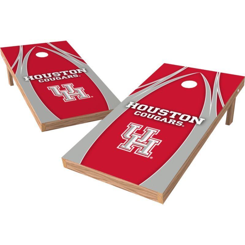 Wild Sports 2 X 4 Houston Cougars Xl Tailgate Bean Bag Toss Shields