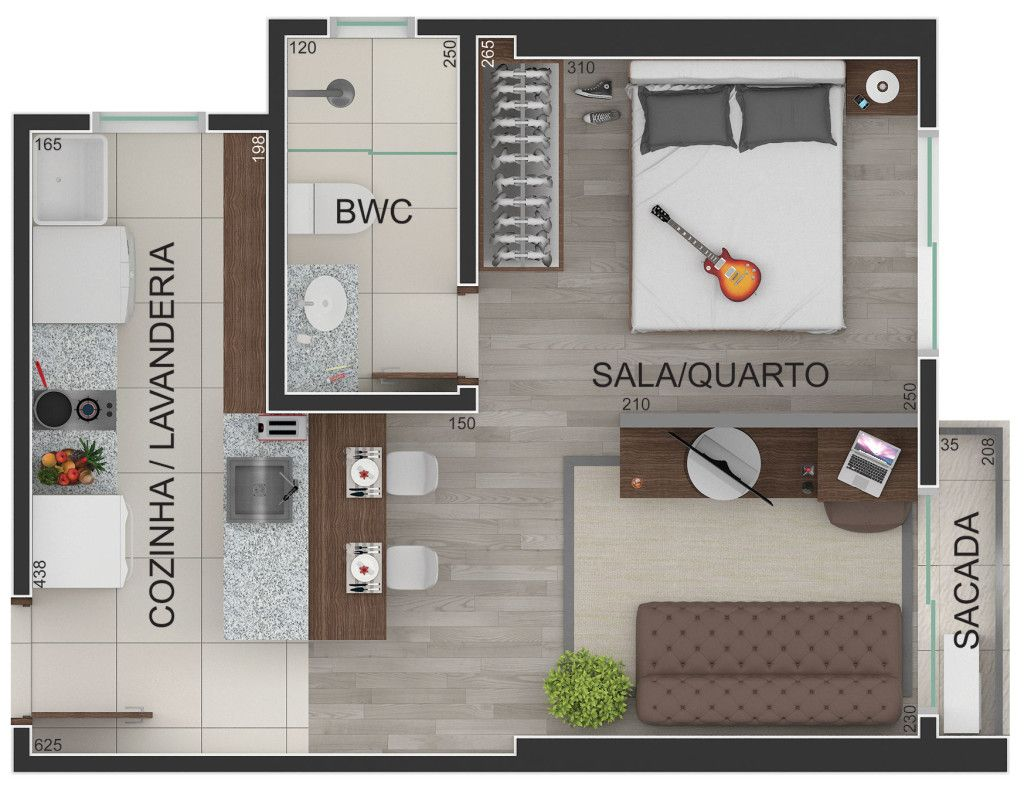 Planta Humanizada Apartamento Arquitectura De Casas Pinterest