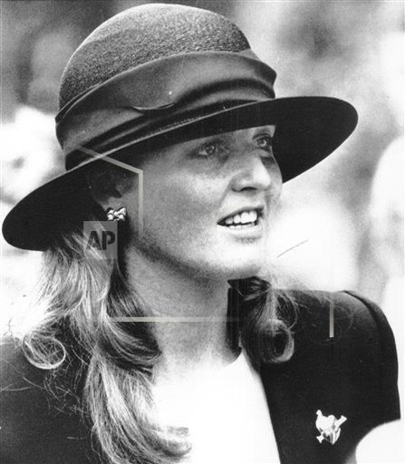 July 27, 1987--Sarah Ferguson Duchess Of York