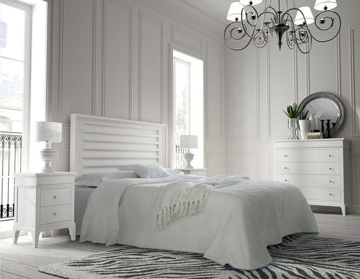 Decorar con blanco dormitorios pinterest dormitorio - Decorar dormitorio blanco ...