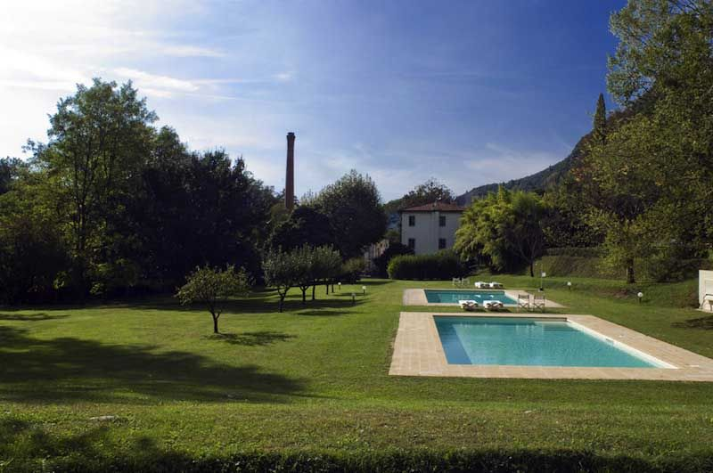 Guests can enjoy activities like hiking, trekking, biking or relax outside in one of the two salt-water pools @villalabianca