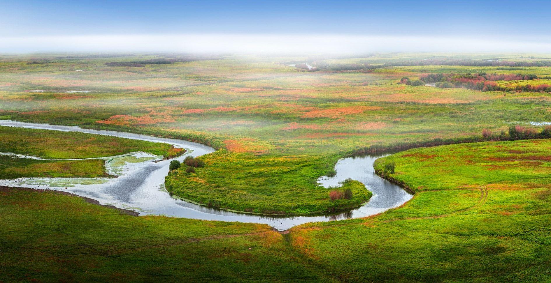Erguna wetlands - Inner Mongolia of China