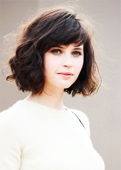 cute short haircuts for thick hair with bangs | Clothing/shoes ...