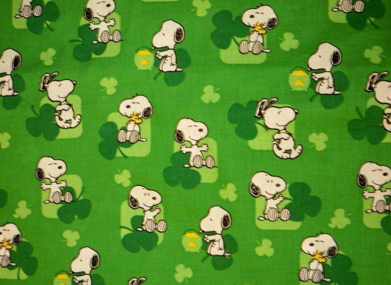 Snoopy St Patrick S Day Flag Snoopn4pnuts Com Snoopy St Patricks Day Wallpaper Snoopy Pictures
