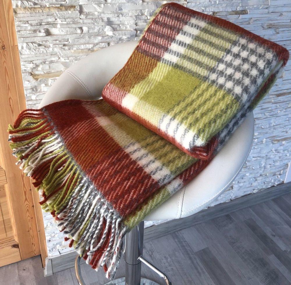Naturlichen 100 Neuseeland Wolle Decke Uberwurf Plaid Warm Soft