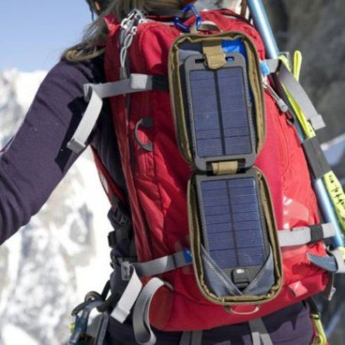 Solar Charger Takes You Far Off Grid