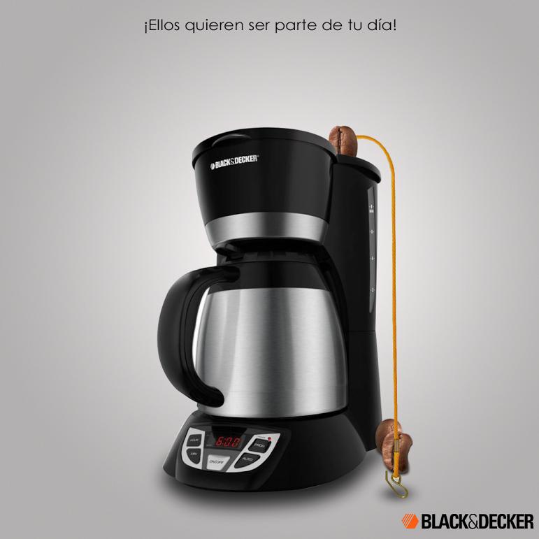 Empieza tu día con la ayuda de las cafeteras de Black&Decker.   #SimpleLife