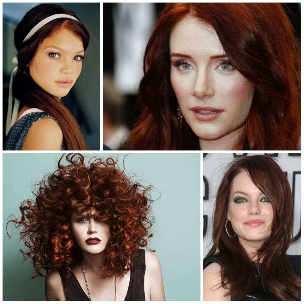 2017 Hottest Mahogany Red Hair Colors Best Color Trends Top Ideas For You
