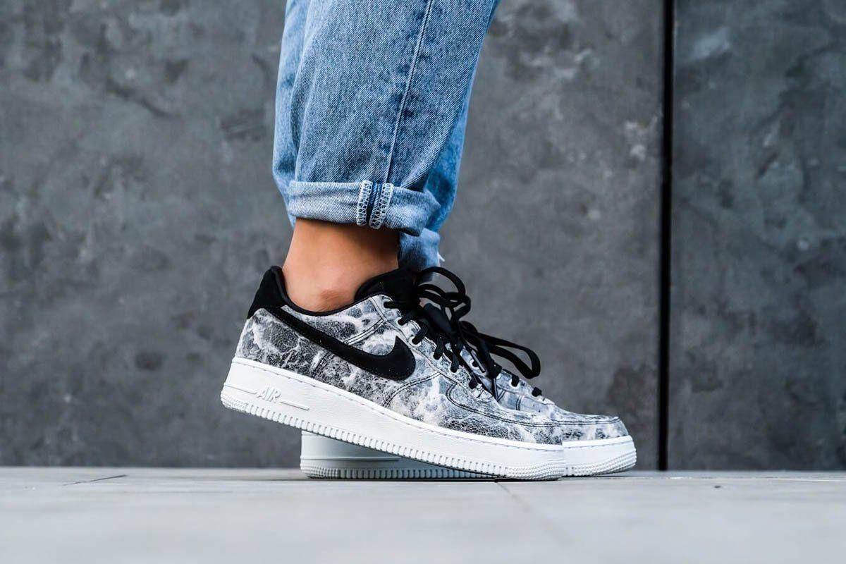 3101682e2d6 Air Force 1 '07 LXX Black/Metallic Pewter in 2019 | Nike Air Force 1 ...