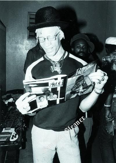King Yellowman, the original King of the Dancehall.