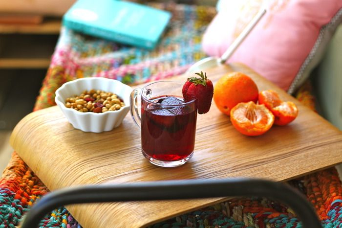 How to Make Sangria the Easy Way - a basic recipe to whip up a batch with whatever you've got on hand.