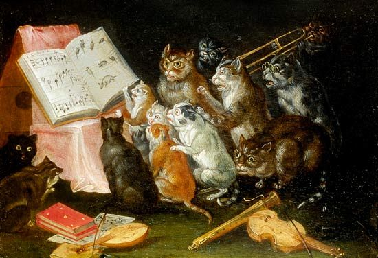 A Musical Gathering of Cats | Ferdinand van Kessel | BAROQUE and ...