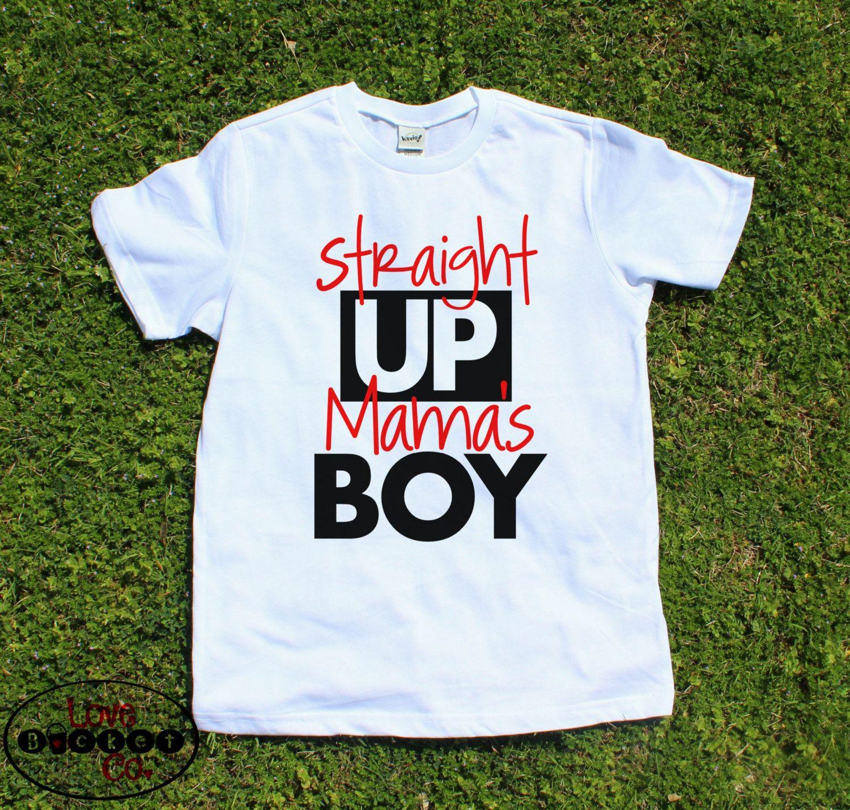 Mama's Boy, I love mommy, boys shirt, cute boys shirt ...