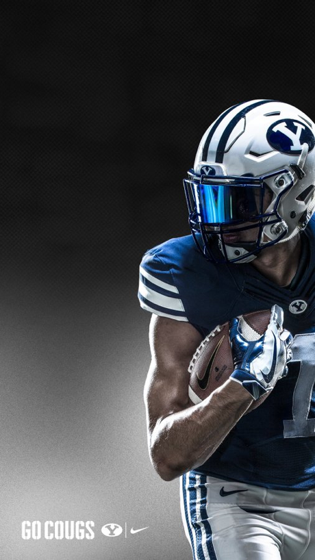 Pin By Skullsparks On Wallpapers Lock Screens Byu Football Football Design Sport Portraits