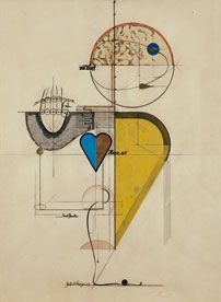 Herbert Bayer (1890 - 1941)  Mit Kopf, Herz und Hand (1923/1929)  Bayer writes of the importance of unifying the head, heart and hand in the creative process.