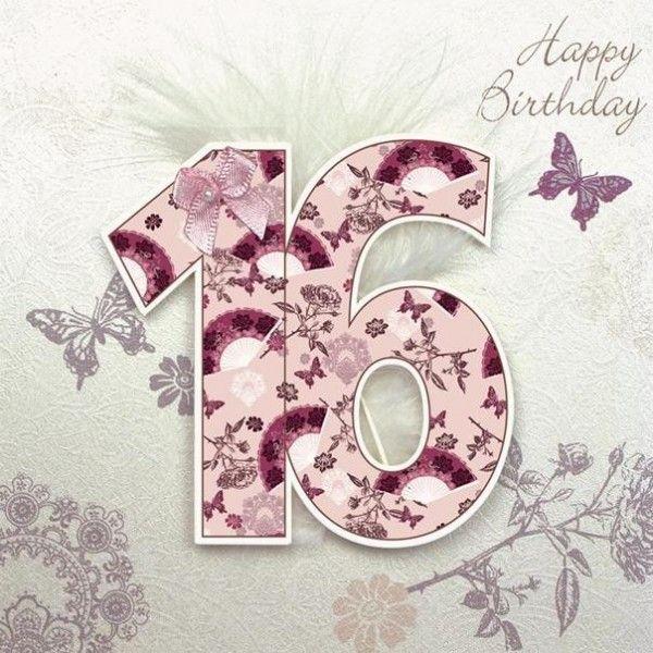 Sweet sixteen birthday happy birthday pinterest sixteenth sweet sixteen birthday birthday card messages50th bookmarktalkfo Image collections