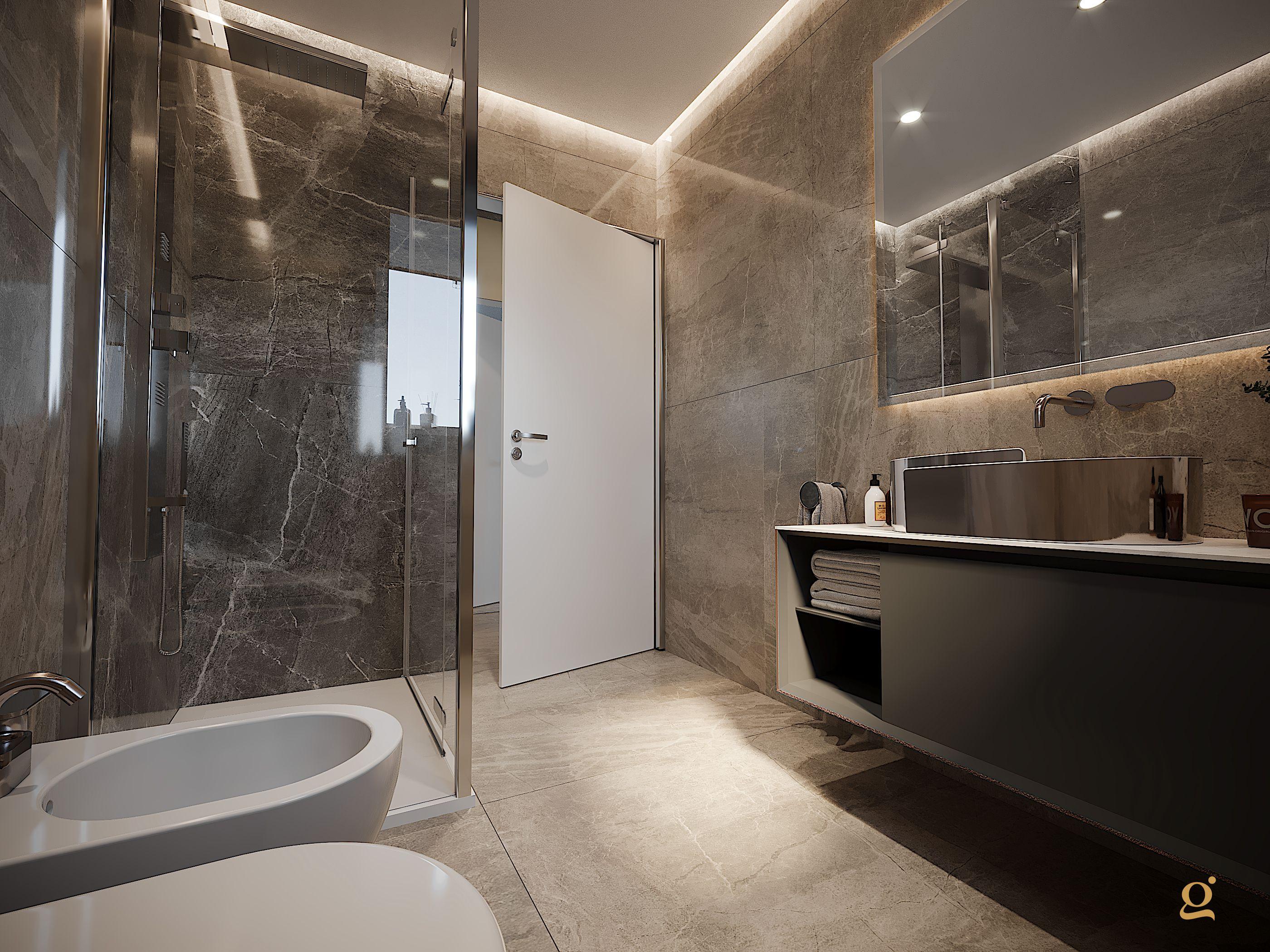 Immagine Su Progetti Di Gaia Miacola Architetto Design Bagni