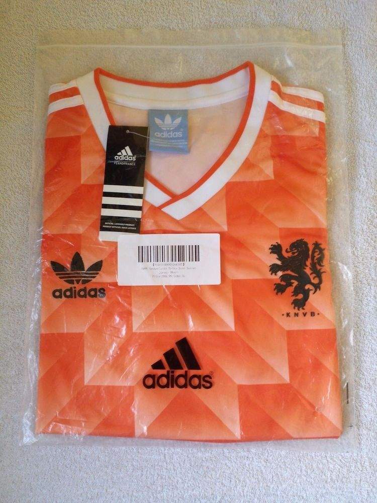 100% authentic 89a6b 709f1 1988 Netherlands Holland retro football shirt jersey kit - M ...
