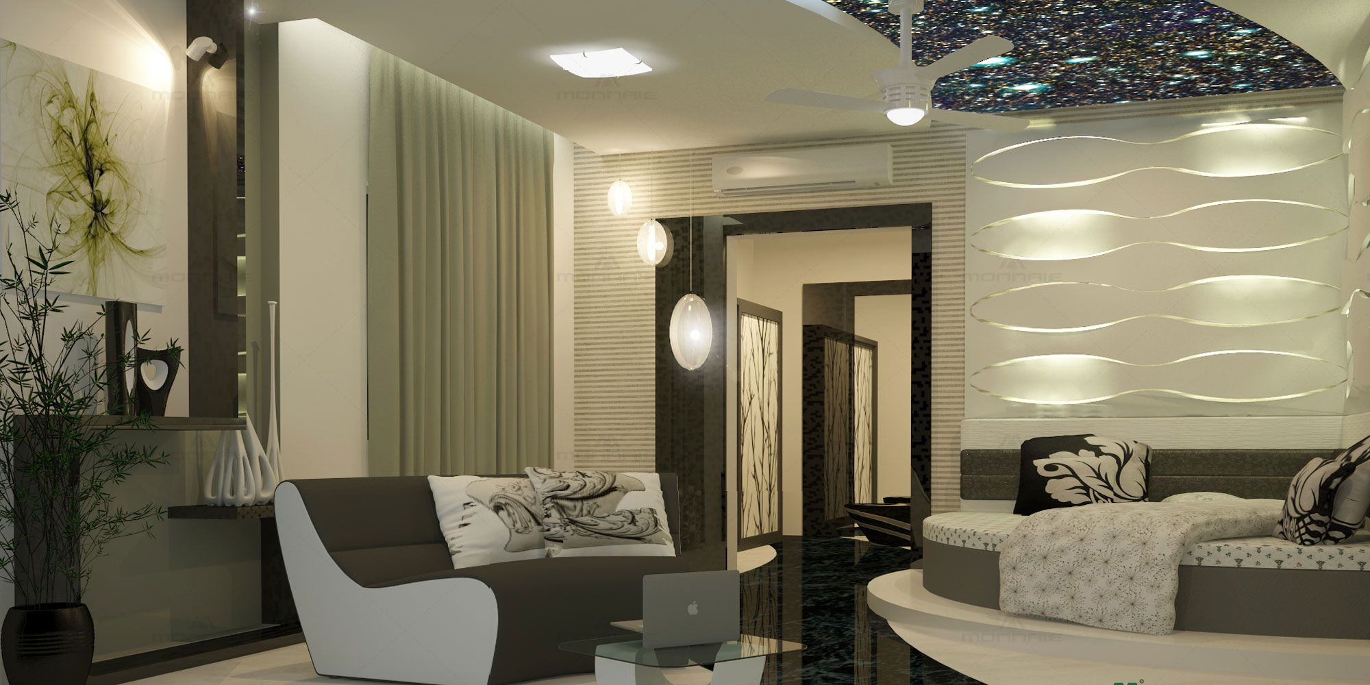 Luxury Bedroom Interior Decorators In Coimbatore