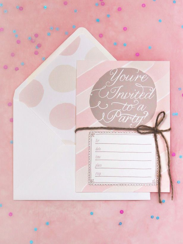 Free Printable Summer Party Invitations | Printable party ...