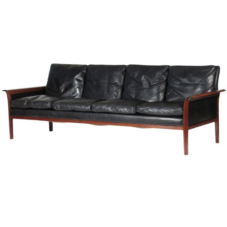 Hans Olsen Rosewood Sofa 1stdibs Com Vintage Sofa Furniture Mid Century Modern Furniture