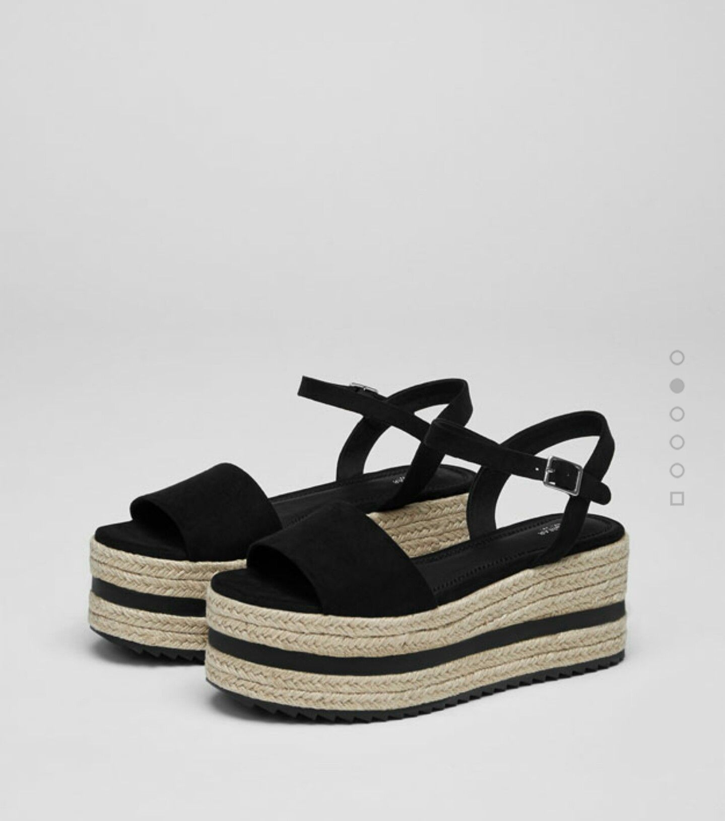 Flatform sandals Pull&bear spring summer 2017