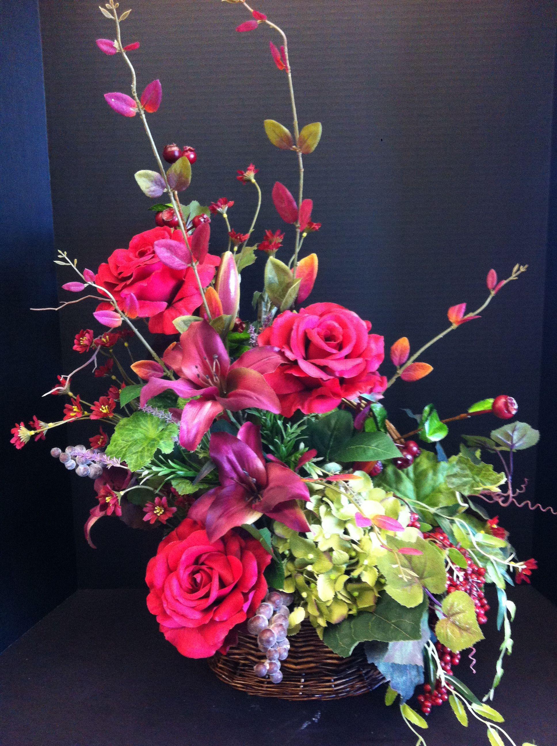 Hot Pink Floral Arrangement Diy Jewelry Pinterest Floral