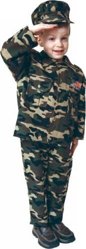 Army Costume - Toddler Costume 4t