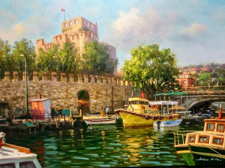 Bulent Kilic 1974 Seascape / Cityscape painter