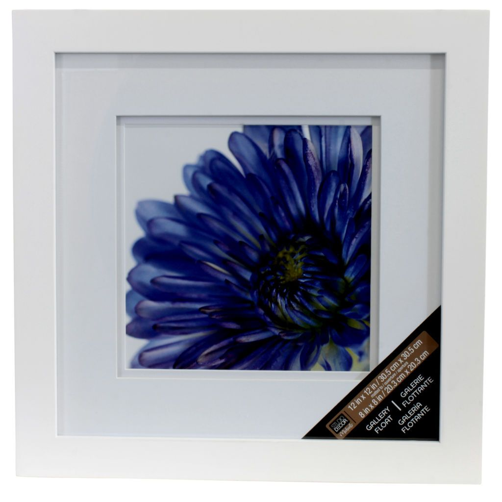 White Square Gallery Wall Frame With Double Mat By Studio Decor