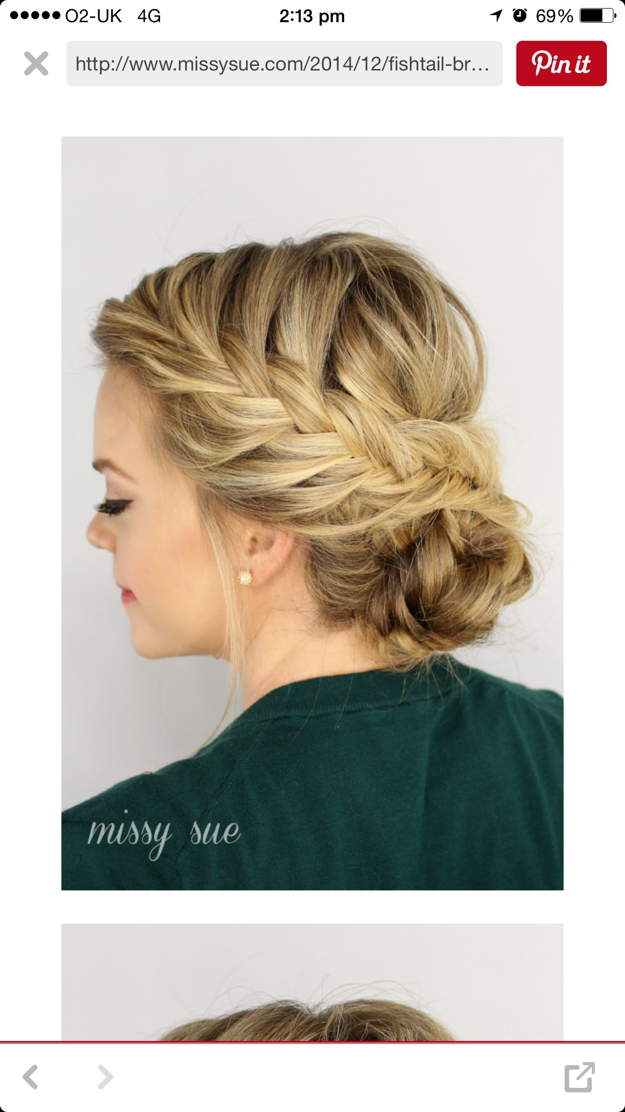 Updike coiffure pinterest hair style prom hair and updos