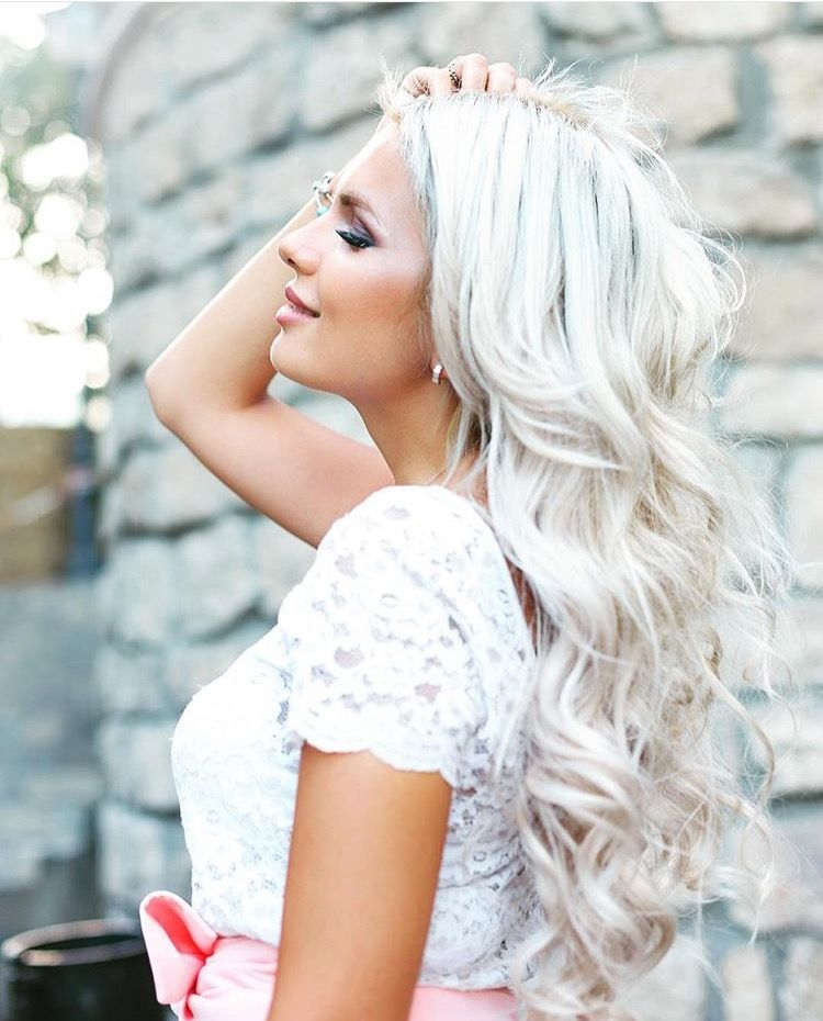 Platinum ash blonde 60 extensions blondes and hair coloring our 60 is a gorgeous true white platinum blonde no yellow iblondee pmusecretfo Image collections