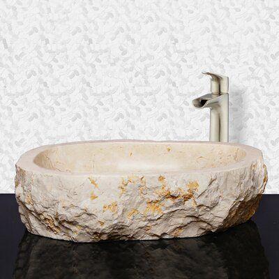 Barclay Elbrus Stone Specialty Vessel Bathroom Sink Sink Modern