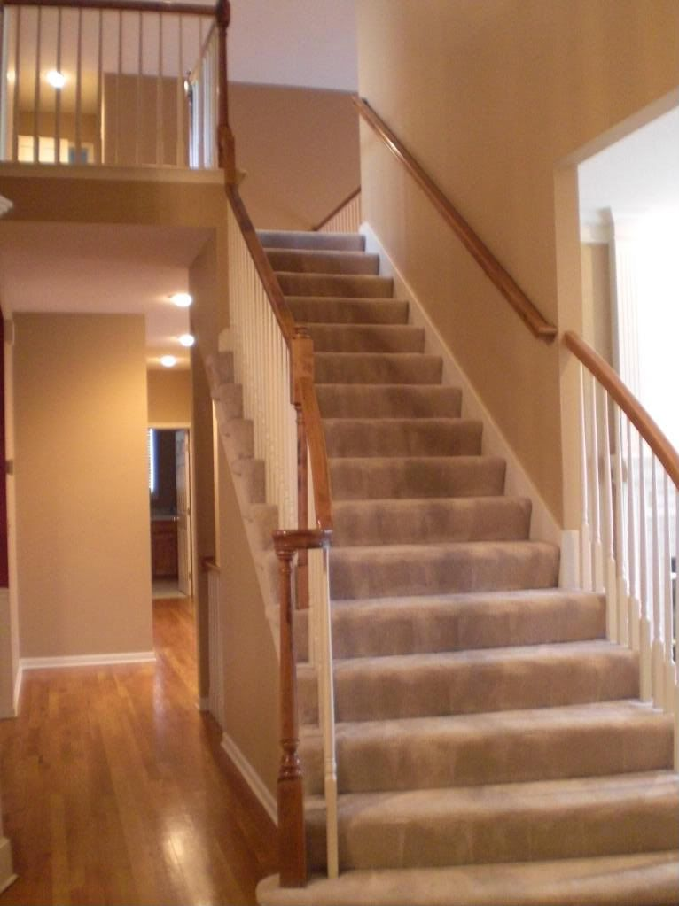 Best Neutral Carpeted Staircase Leads To A Loft And 3 Bedrooms 400 x 300
