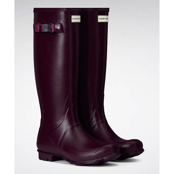 Women's Hunter Norris Field Wellington Boots (28 KWD) ❤ liked on ...