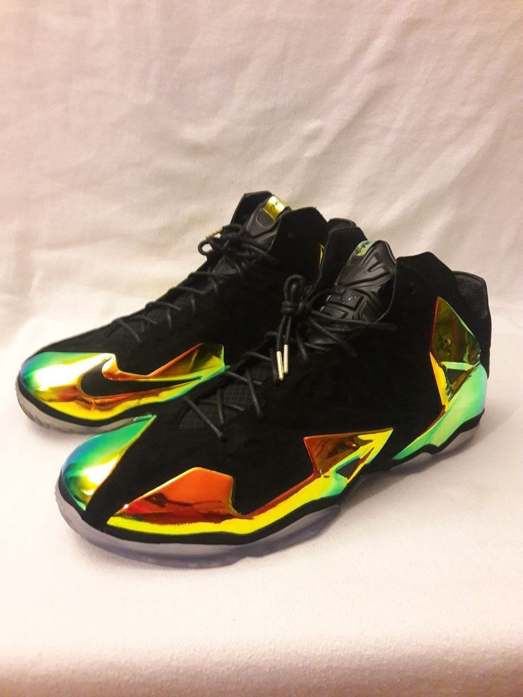 brand new b774d 8c9a2 Nike LeBron 11 XI EXT QS Premium Kings Crown Black 677693-001 Size US 16  NEW DS  fashion  clothing  shoes  accessories  mensshoes  athleticshoes  (ebay link)