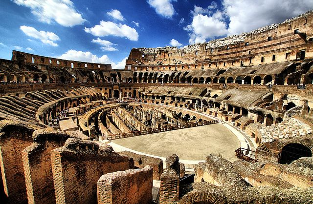Rome's Colosseum and Clouds | Places to go, Rome, Meet me ...