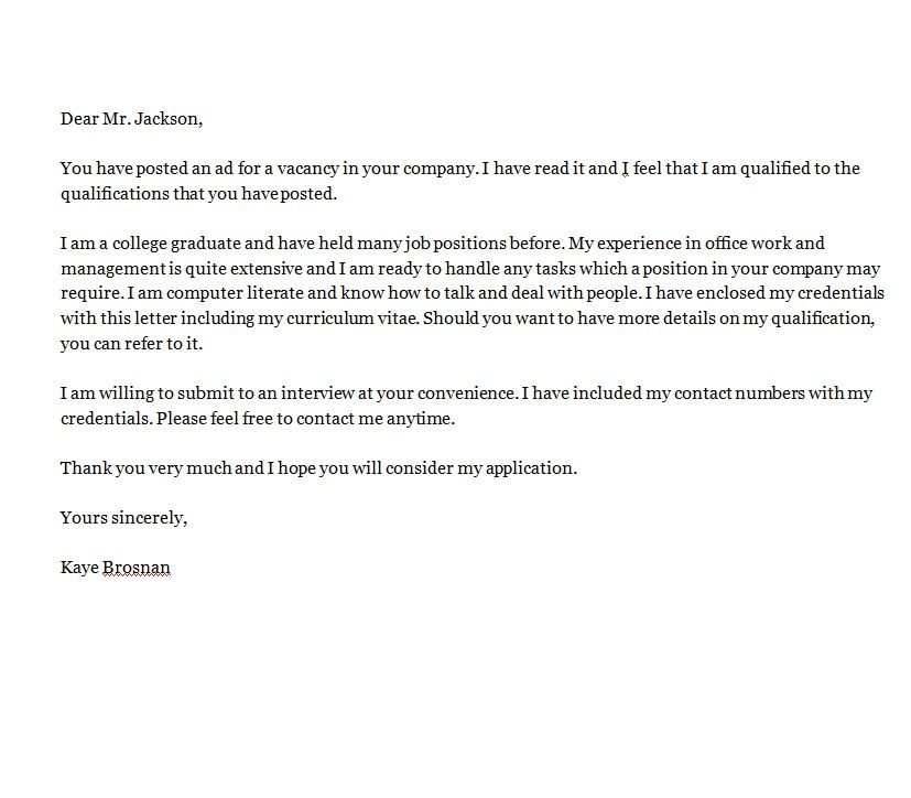 motivation letter for university application bachelor - Cover Letter University
