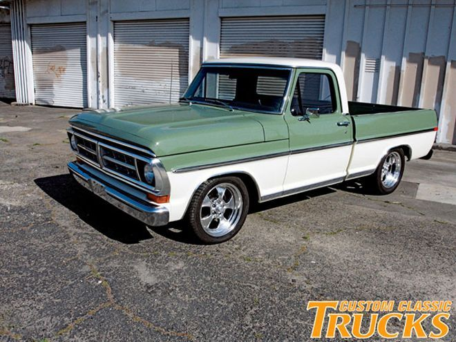 1968 Ford Truck Vin Decoder 1 - Cct Z Ford F Rangerfront Side Shot - 1968 Ford Truck Vin Decoder 1
