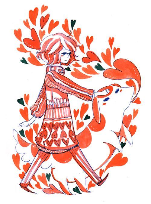 hearts by *koyamori on deviantART