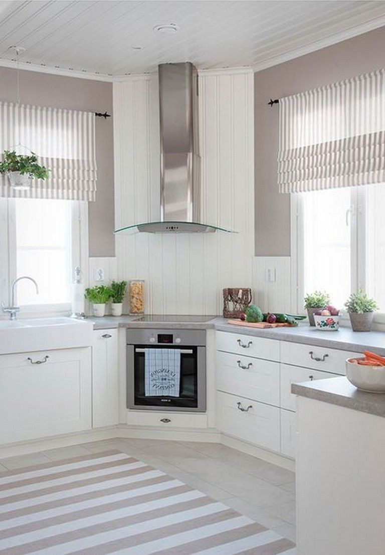 44+ Wonderful White Kitchen Design Ideas #kitchendesignideas