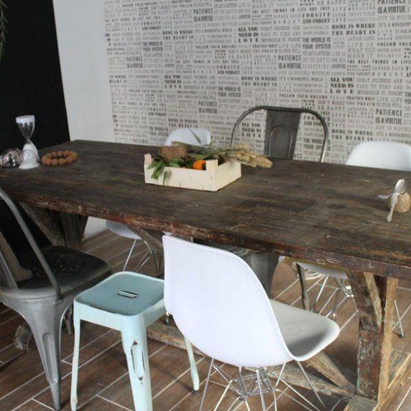 Style Industriel Les Codes A Respecter Table De Ferme Chaise