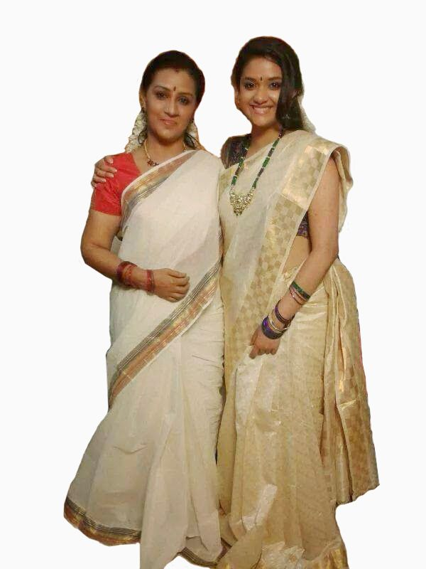 A girl never buy her first #saree that she wears…She chooses from the wardrobe of her mother…http://goo.gl/BPObxy