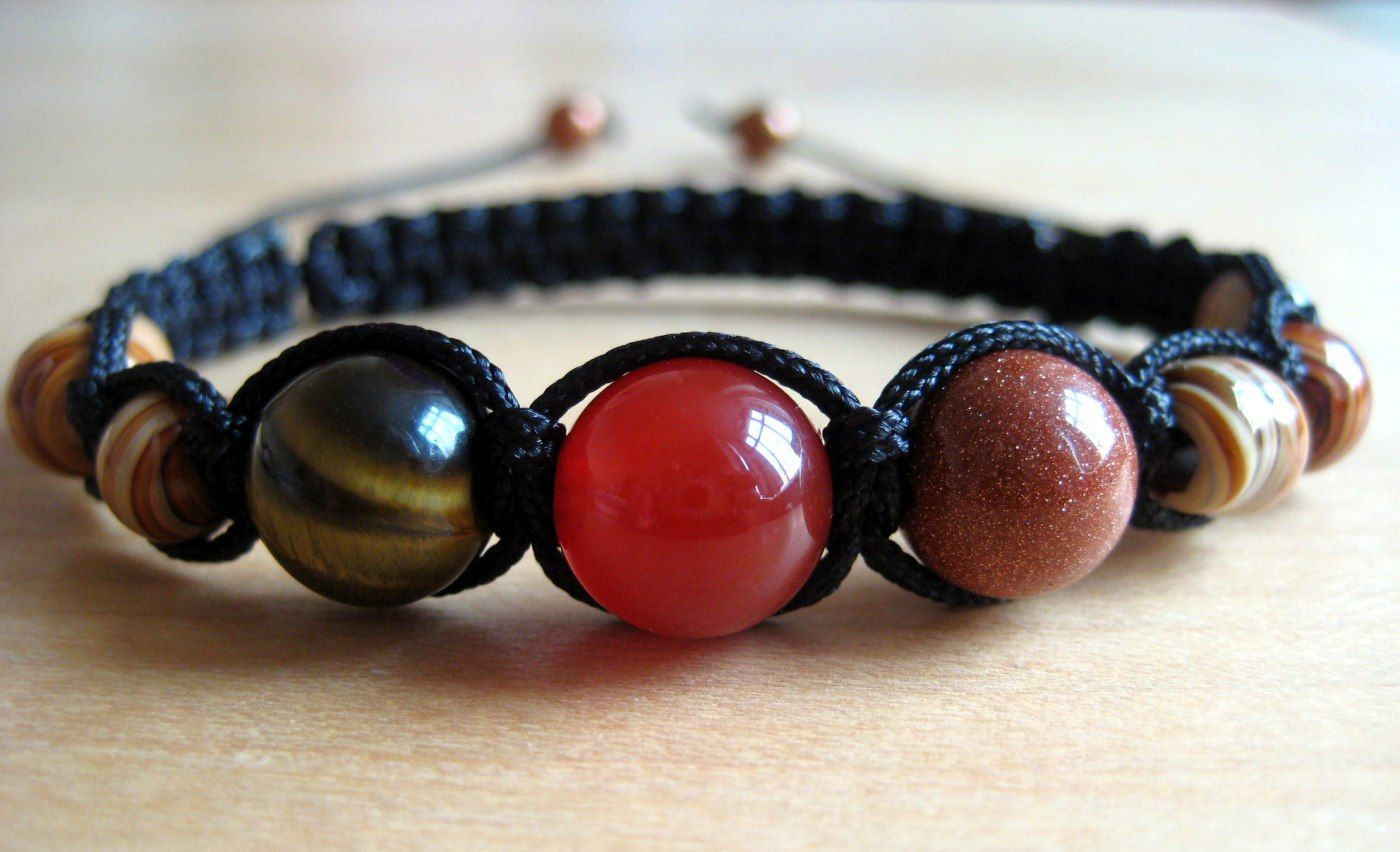 How to weave a bracelet Shambala Shambala Bracelet DIY 1