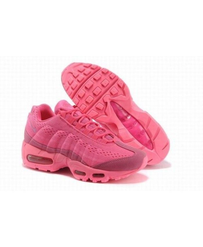 50a813582736 Nike Air Max 95 Em All Pink Womens Sale