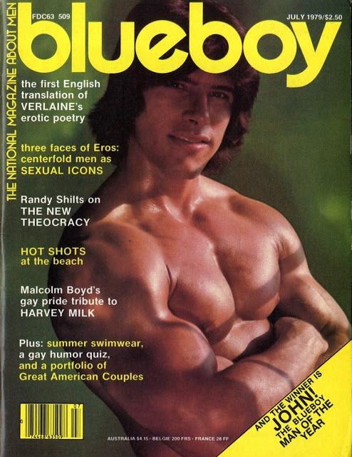 Vintage schwule Pornozeitschriften
