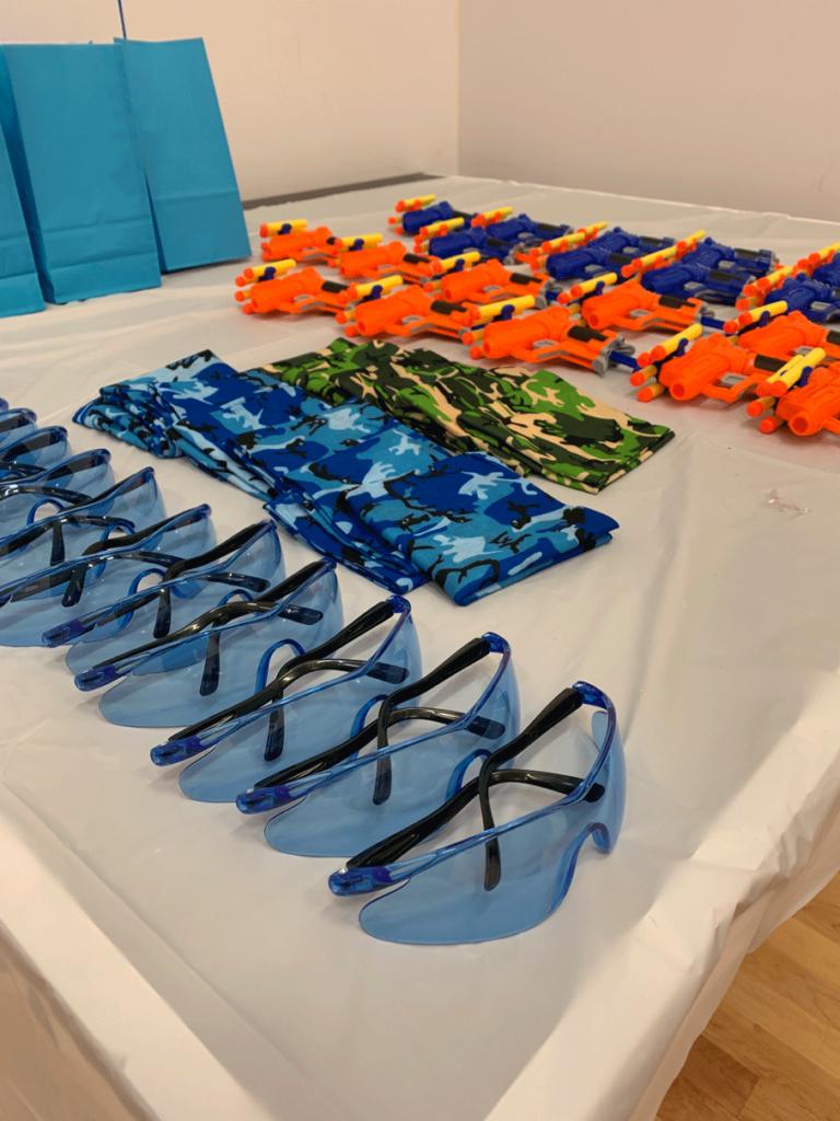 The Ultimate Nerf Gun Birthday Party - Uplifting Mayhem